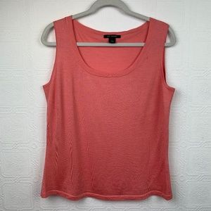 ST John Wool SIlk Cashmere Tank Top Large Flaw 244